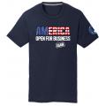 America - Navy Tee