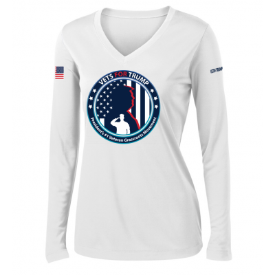 Women's LS Performance Tee - White