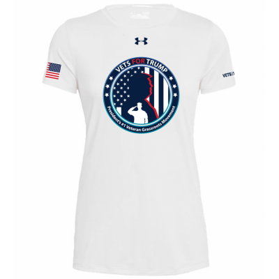 UA Womens Graphic Tee - White