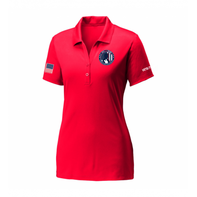 Women's Performance Polo - Red