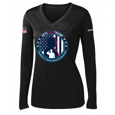 Women's LS Performance Tee - Black