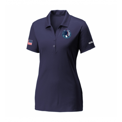 Women's Performance Polo - Navy