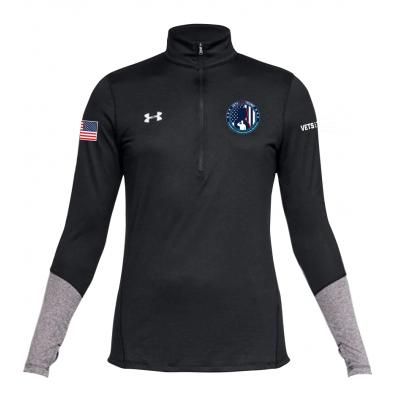 UA Women's 1/4 Zip - Black
