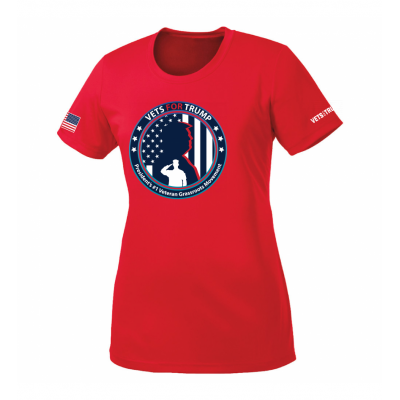 Women's Performance Tee - Red