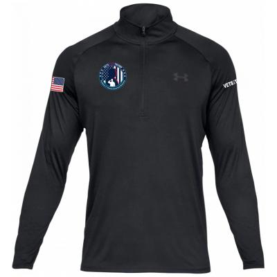 UA Men's 1/4 Zip - Black