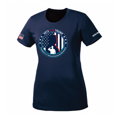 Women's Performance Tee - Navy