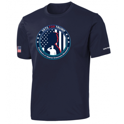 Men's Performance Tee - Navy