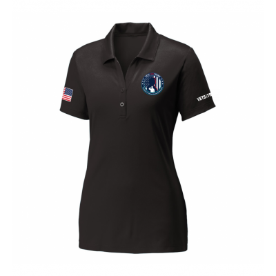Women's Performance Polo - Black
