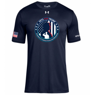 UA Men's Graphic Tee - Navy