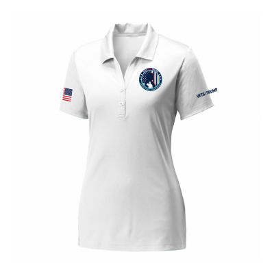 Women's Performance Polo - White