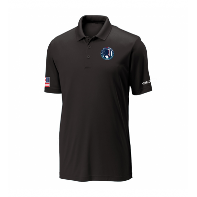 Men's Performance Polo - Black