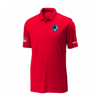 Men's Performance Polo - Red