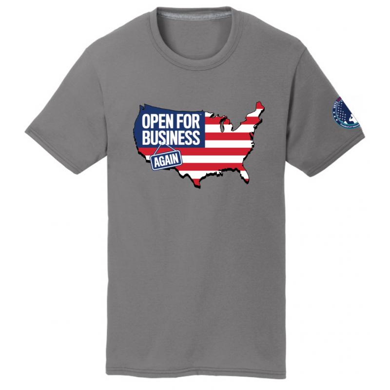 OFBA USA+Flag - Gray